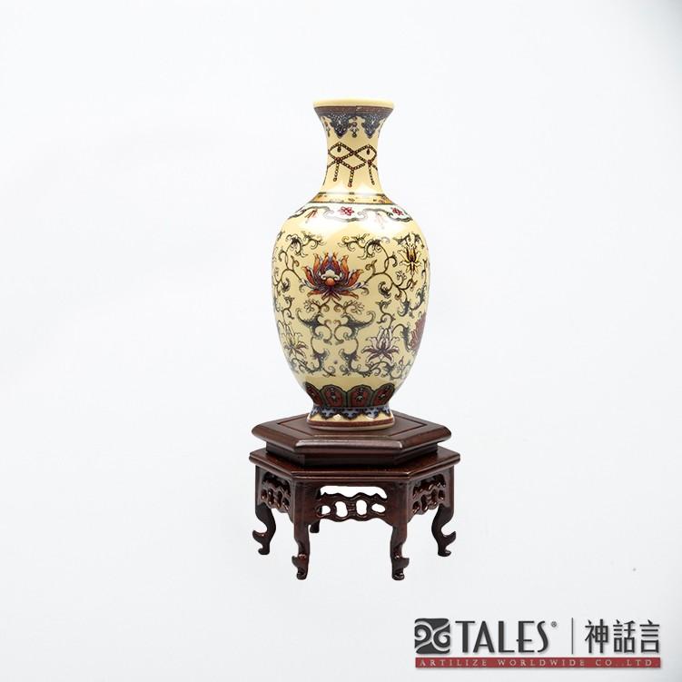 故宮百品番花觀音瓶