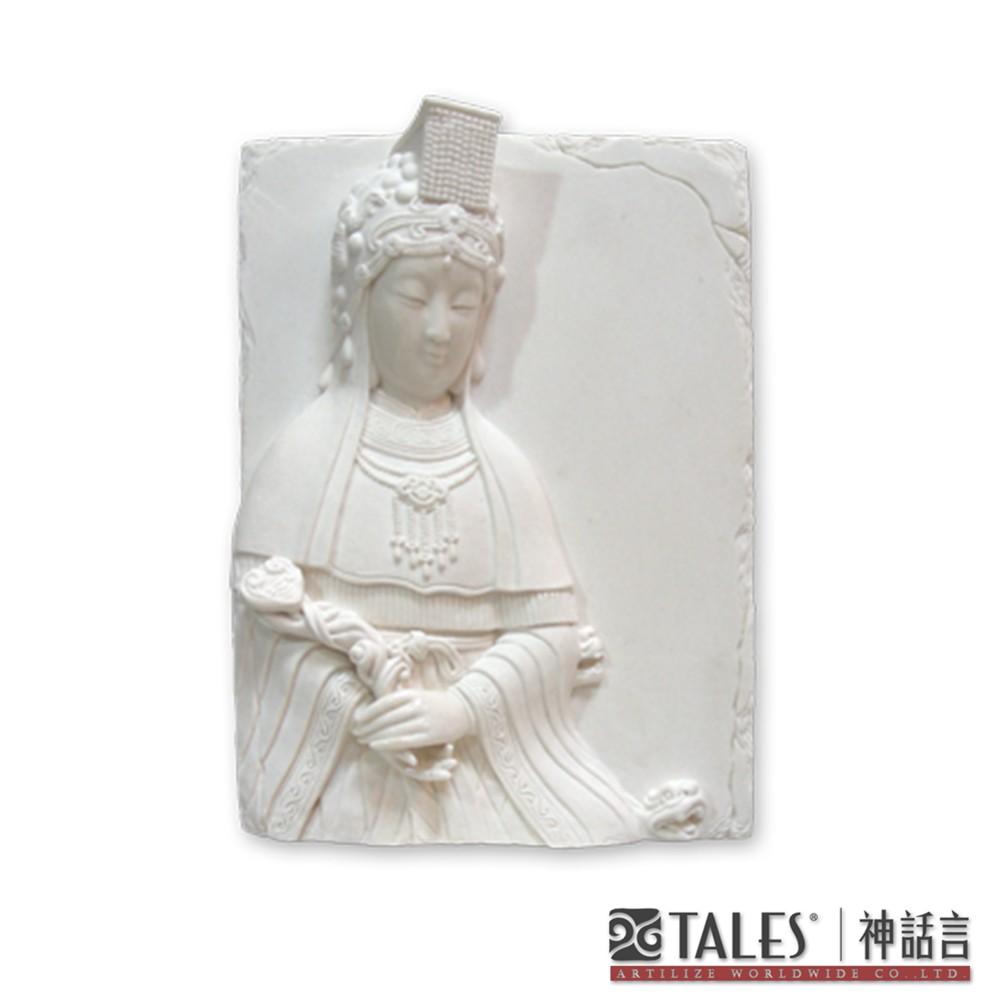 白玉瓷雕系列- 天后媽祖