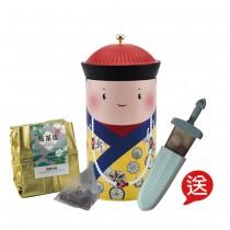 台灣大師茶.24入綜合款-贈劍形製冰器(乾隆愛喝茶,夏日聖冰食)