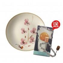 百花薈-中盤-贈翠玉白菜不鏽鋼煎蛋模(國寶早餐,迎接美好一天)