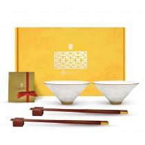 故宮神話-皇家寶璽-得大自在(碗筷組)
