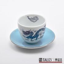 世紀龍顏-中式茶杯