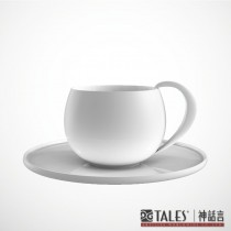 菊影‧咖啡杯組-大‧風雅食具