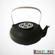墨玉系列-菱花茶壺(風雅食具)