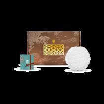 花窗舞影-富貴菱花-盤