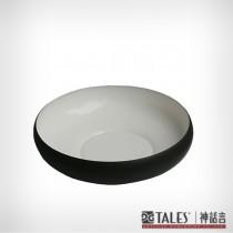 墨玉系列-菩提圓碗-大(風雅食具)