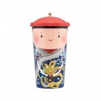 乾隆御茗系列-鹿谷凍頂濃韻烏龍茶-600ML冷泡杯茶 (茶包5入)