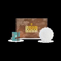 花窗舞影-萬福芝蓮-盤