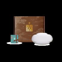 花窗舞影- 冰玉丁香.16cm大盤