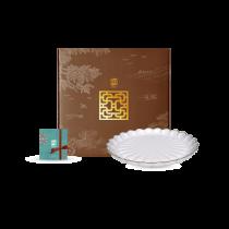 花窗舞影-金英雅菊-油切盤