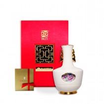 故宮神話-乾隆雅翫-轉心瓶(花器 擺飾)-番蓮