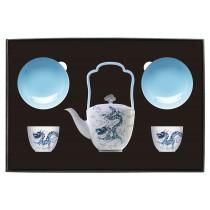 世紀龍顏-品茗茶具組(2人-1壺2杯2碟)