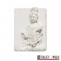白玉瓷雕系列- 普賢菩薩