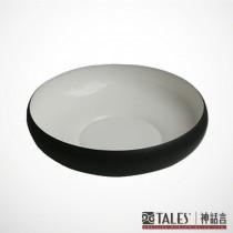 墨玉系列-菩提圓碗-中(風雅食具)