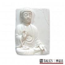 白玉瓷雕系列- 如來佛
