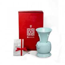 故宮神話-國寶雅翫-丁香尊壺(1壺1杯)-青瓷