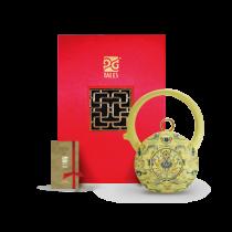 8福運轉.茶器-月黃鳳蓮壺