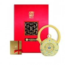 故宮神話-乾隆雅翫-8福運轉-鳳蓮黃(1壺1杯)-茶器