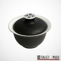 墨玉系列-菱花湯盅(風雅食具)
