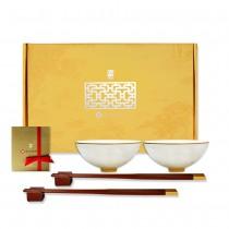 故宮神話-皇家寶璽-宜子孫(碗筷組)