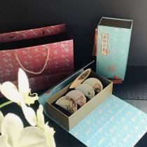 故宮神話-仙萼長春-骨瓷盤組