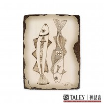 東方畫藝-飛魚之歌-雙魚