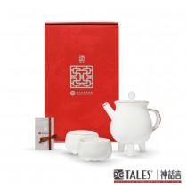 古物新知-父癸盉.茶具禮盒(2人)