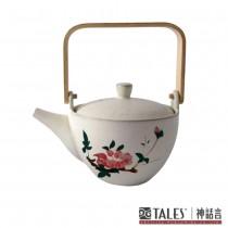 百花薈-茶壺(茶花)-百花富貴茶餐具