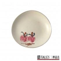 百花薈-小盤(桃花) 百花富貴茶餐具